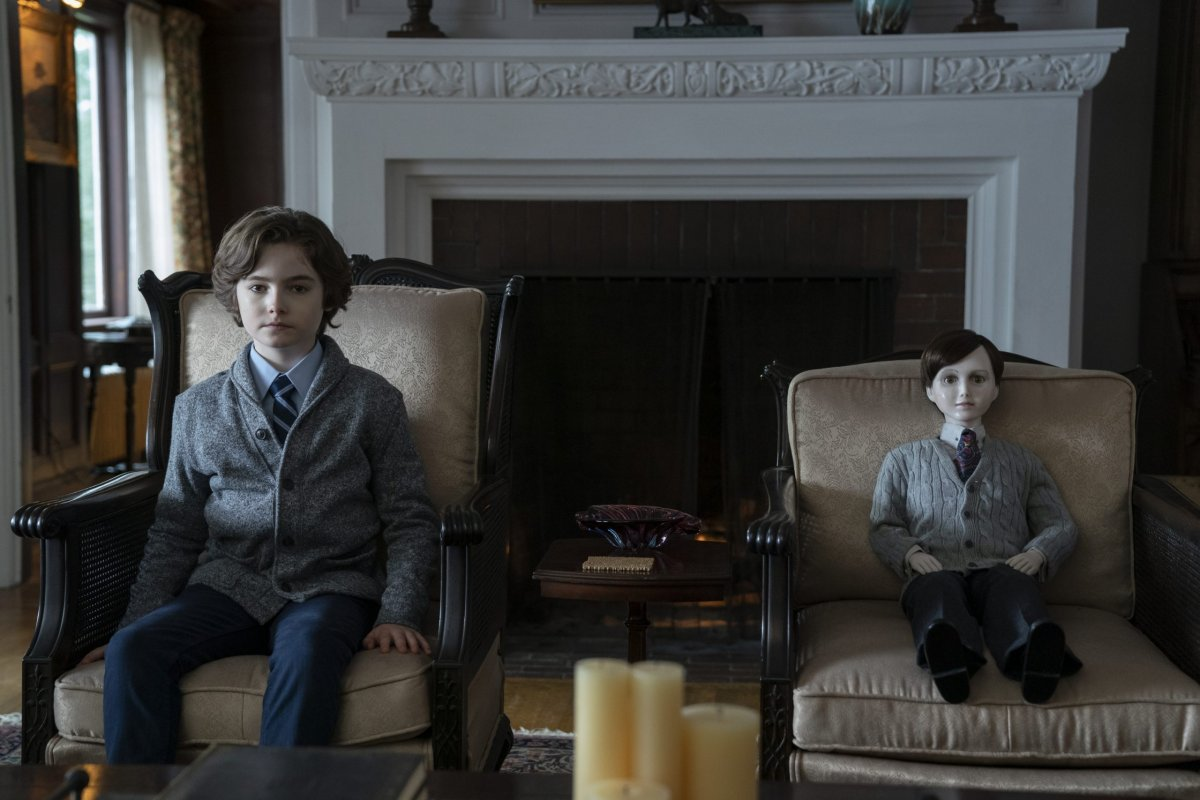 Christopher Convery stars in Brahms: The Boy 2.