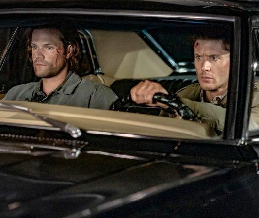 "Supernatural — ""The Trap"" — Image Number: SN1509A_0270bc.jpg — Pictured (L-R): Jared Padalecki as Sam and Jensen Ackles as Dean"