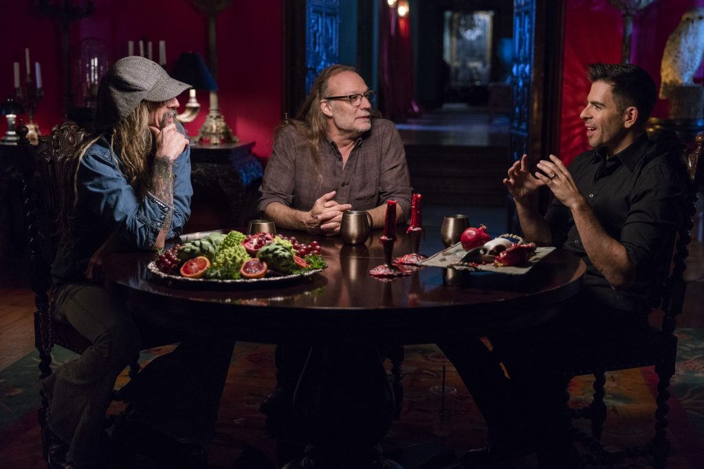 Rob Zombie, Greg Nicotero, Eli Roth, History of Horror Season 1