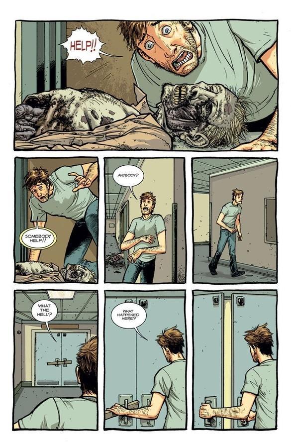 Walking Dead Deluxe Page