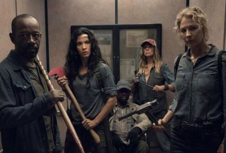 An image of cast members from AMC's Fear The Walking Dead (Photo credit: AMC)